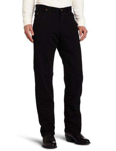 Wrangler Men's Premium Performance Cowboy Cut Jean, Black, 36x34 (Cowboy-jeans Schwarzen Wrangler)