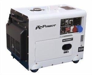 ITC Stromerzeuger 7 kVA 230 400 V Stromaggregat Diesel Stromgenerator (7800SE-T)