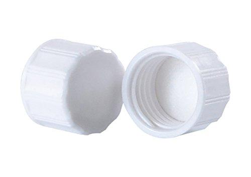 Wheaton 300190 Deckel für Diagnose-Fläschchen, Weiß (1000-er Pack)