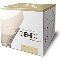 Chemex FS-100 Prefolded Square Filters Box 100 Filters