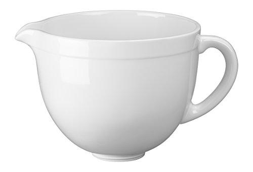 Kitchenaid 5KSMCB5LW Keramikschüssel, weiß