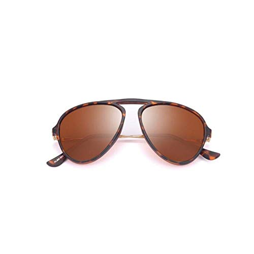 CAGSQ Sonnenbrillen Stilvolle Pilot Designer Polarisierte Männer Sonnenbrille Männer Fahren Sonnenbrille Angeln Reise Brillen (53mm Sonnenbrillen, Aviator)
