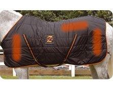 Blazewear beheizte Pferdeecke Blaze Größe MITTEL mit 12 große Heizelemente