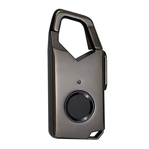Covan_CN Candado con Huella Dactilar Inteligente, candado de Carga USB