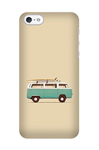 iPhone 4/4S Coque photo - Bleu Van