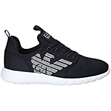 0a3ac491420a0 EA 7 Simple Racer Uomo Sneaker Nero