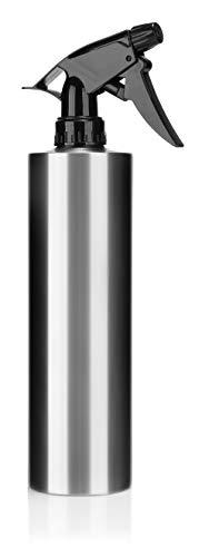com-four® Wassersprüher, Handsprüher zur Bewässerung von Pflanzen oder Haaren, 500ml Wassersprühflasche, großer Wasserzerstäuber aus rostfreiem Edelstahl (1 Stück - 0.5 Liter) -