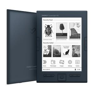 "Energy Sistem eReader Screenlight HD (6"", E-Ink Carta HD, Screenlight, 8GB, Umblättern-Seitentaste)"