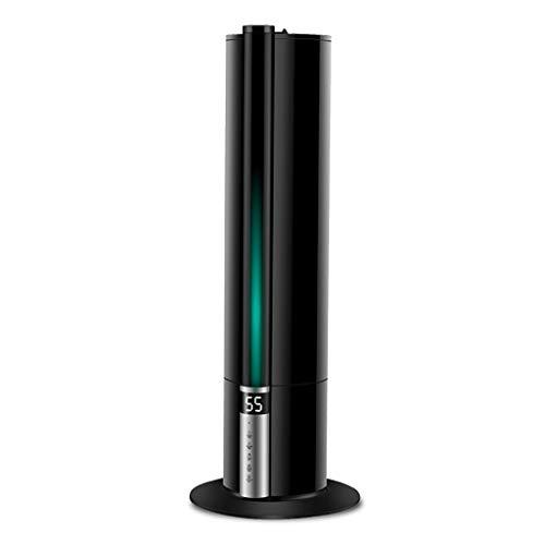 GYZ Humidificateur à Ultra-Froid à Brume Ultra-silencieuse 7.5L Humidité constante Pure Intelligente et silencieuse Machine Machine d'aromathérapie SH Arrêt Automatique sans Eau //+ (Couleur : Noir)