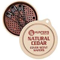 Hunter Specialties - Oblea aromática, Estándar, Cedar Scent