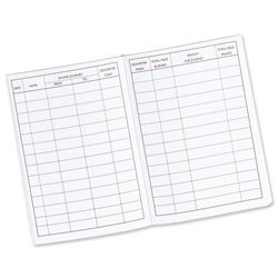 Brand New. Guildhall Vehicle Mileage Log Book 60 Pages 149x104mm Black Ref T43Z