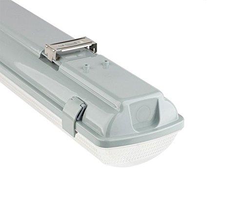 Plafoniere Stagne Per Tubi Led : Kingled supporto portatubo stagna per tubi led t da cm