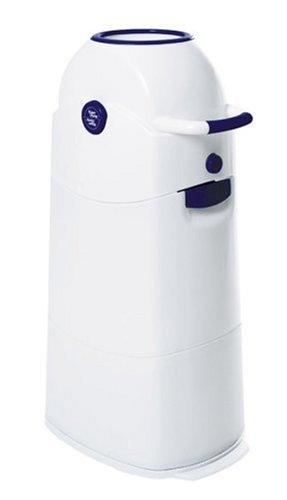 Geruchsdichter Windeleimer Diaper Champ medium blau - für normale Müllbeutel