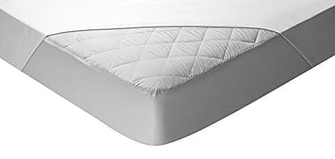 Pikolin Home – Protège-matelas matelassé lit bébé, imperméable et respirant, 70x140cm, lit bébé