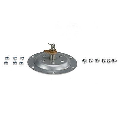 Genuine Tumble Dryer Riveted Bearing Drum Shaft Repair Kit For Hotpoint TVM570P TVM572G