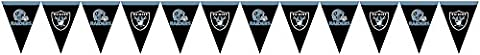 Creative Converting Oakland Raiders Flag Banner Decoration