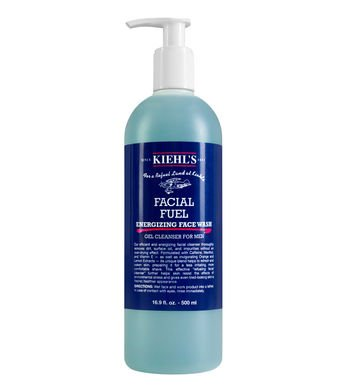 Kiehl's Facial Fuel Energizing Face Wash Gel Cleanser 16.9oz (500ml)