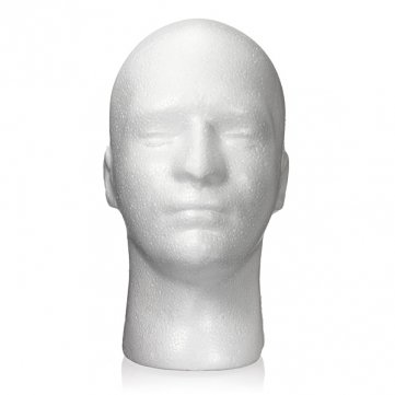 2pcs-male-styrofoam-foam-mannequin-stand-model-display-head