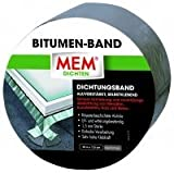 MEM Bitumen-Band, 5 cm x 10 m, alu, 500478
