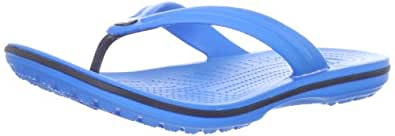 Crocs Unisex Adult's Crocband Flip Flops - Blue (Ocean/Navy), 11 UK