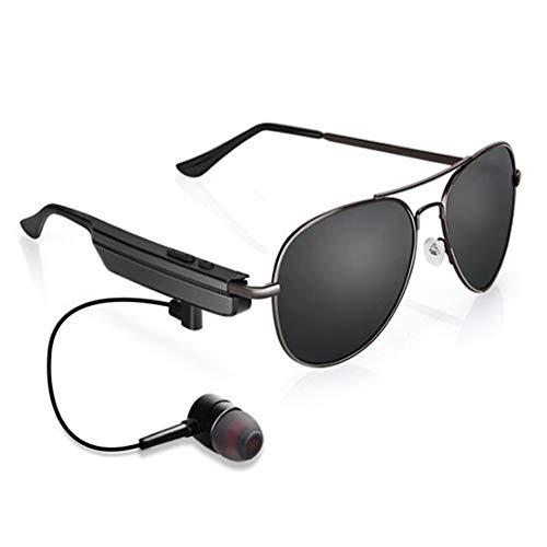 KCaNaMgAl Smart 4.1 Bluetooth Brille, Kopfhörer Stereo Wireless Sport Sonnenbrille Polarisierte Sonnenbrille Outdoor Sports Geschenke