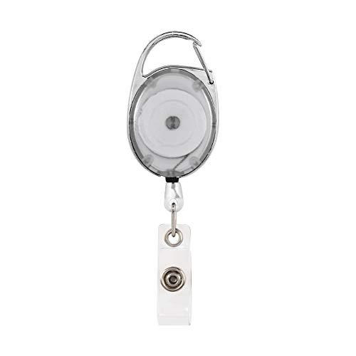 aprettysunny id name lanyard karteninhaber gürtel elastischen einziehbaren spule 70-80mm etiketten handwerk -