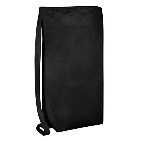 bagzdepot schwere Gewicht 100% Dick 12oz. Leinwand Wäsche Travel Kleidersack-Gepäck Tragetaschen-Kordelzug Taschen-mit Schultergurt - Leinwand Wäsche