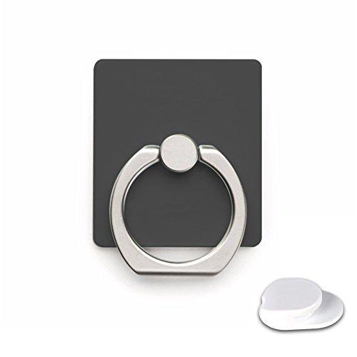 sycotek universale rotante in metallo anello dito Grip supporto per tablet supporto nero