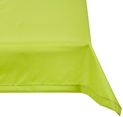 beo Outdoor-Tischdecken wasserabweisende, eckig, 76 x 76 cm, hellgrün