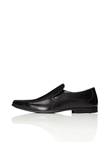 FIND Men's Andros Slip-on Loafer Shoes, Black (Black), 9 UK