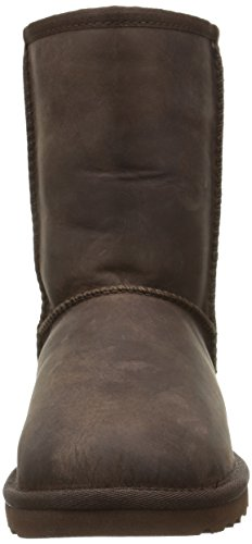 UGG Classic Short Leather, Bottes Classiques Femme Marron (Brownstone)