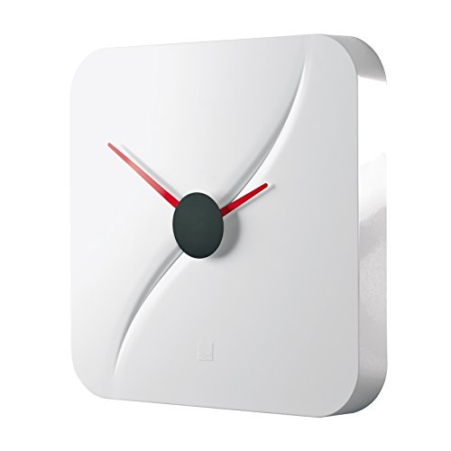 Orologio da parete design artetempus®, modello kada, bianco
