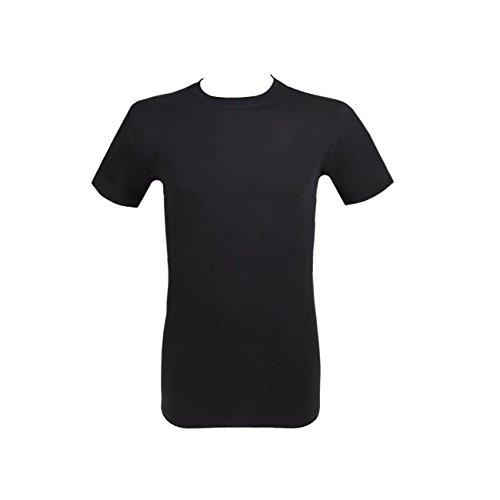 Weißes Thermo T-Shirt von Jockey // Bis 6XL Schwarz (999)