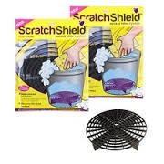 2x Kratzer Shield Auto waschen Eimer Filter Grit Guards Schwarz Pro Scratch Guard