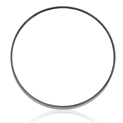 Pudincoco Fashion 10X Lupe Kosmetikspiegel Mit Saugnäpfen Frauen Schönheit Spiegel Große Make-Up-Tool Geschenke (schwarz) - Lupe Make-up
