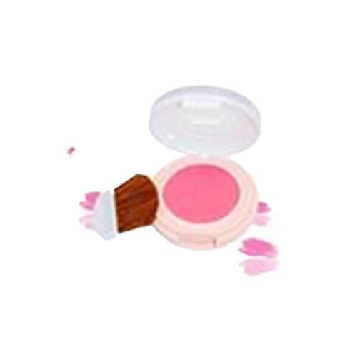 Vovotrade Blush Femmes Fard à joues monochrome maquillage pêche mat Doux Hydratant Naturel Léger Réparation 1PC Imperméable Durable Éclaircissant Pore Multicolore Nude Lumineux Maquillage Blush