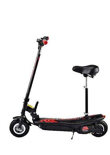 SABWAY Patinete Eléctrico Juvenil con Asiento Plegable - Scooter y Acelerador 250W