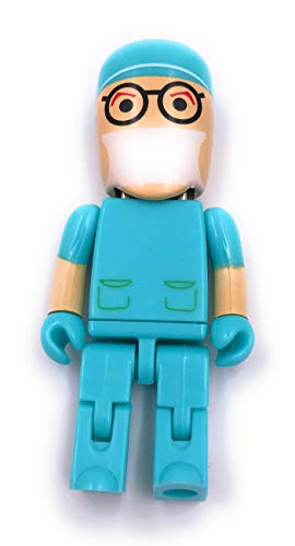 H-Customs Chirurg Arzt Dr mit Mundschutz USB Stick 8GB USB 2.0