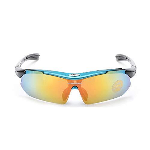 WDDP Polarisierte Sport-Sonnenbrille (Zwei Gruppen Von UV400-Schutzgläsern) Für Männer, Frauen Beim Radfahren, Angeln, Laufen Und Bei Outdoor-Aktivitäten,D