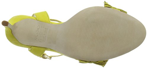ALDO Neila, Sandales Bride cheville femme Jaune - Yellow (Light Yellow / 68)