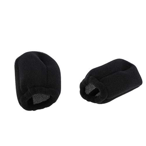 B Blesiya 2pcs Professionelle Friseur Universal Föhn Socken Diffusor Zubehör Abdeckung geeignet für alle Blaswerkzeuge Haar Diffusoren Befestigung
