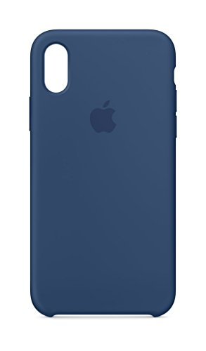 Apple Custodia in Silicone per iPhone X - Blu Cobalt