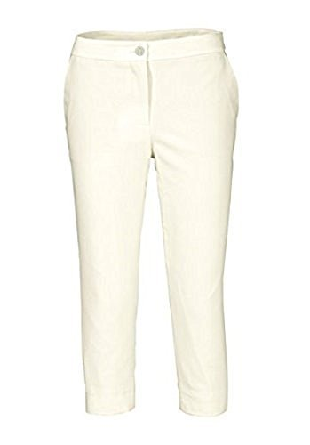 Caprihose Hose von Patrizia Dini in Weiß Weiß