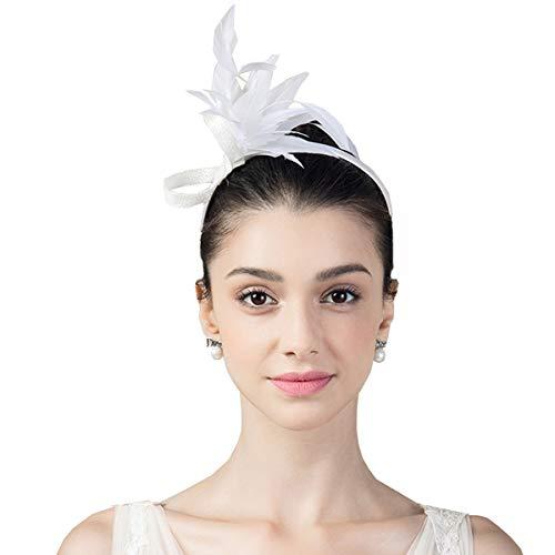 Nosterappou Chapeau à la Mode, Accessoires pour Cheveux décoiffés, Serre-tête Automne et Hiver, Savoir-Faire Exquis