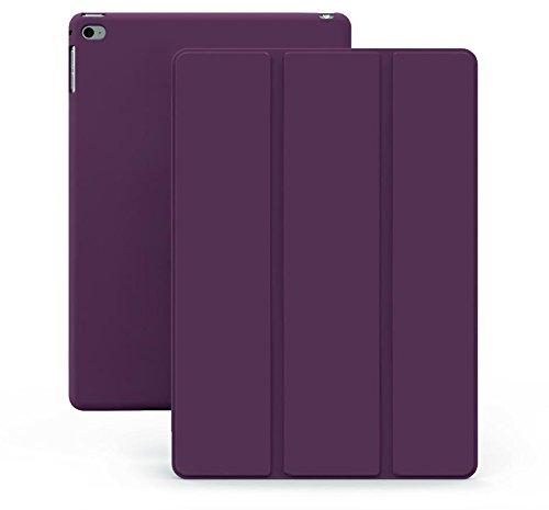 Khomo iPad Air 1 Hülle Case Violett Gehäuse mit doppelten Schutz ultra dünn und leicht, Smart Cover  - Dual Purple (Computer-gehäuse Speck)