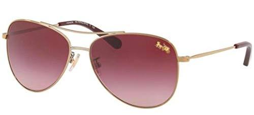 Coach Sonnenbrillen HC 7079 PALE GOLD/BURGUNDY SHADED Damenbrillen