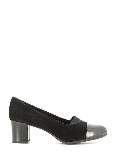 GRUNLAND CIAC SC2321 topo nero scarpe donna decolletè elasticizzato 38
