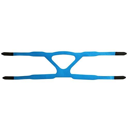 Heaviesk Universal-Kopfbedeckung Comfort Gel Vollmaske Sicherer Ersatz für die Umwelt CPAP-Kopfband ohne Maske für PHILPS geeignet -