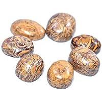 Gem Stone - Mariam Jasper Set Of 5 Chakra Healing Crystal, Meditation Stones, Yoga Crystals, Palm Thumb Pocket... preisvergleich bei billige-tabletten.eu