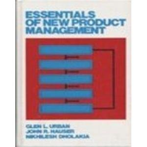 Essentials of New Product Management by Glen L. Urban (1998-04-10)